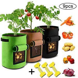 ¿Cómo y por qué cultivar - GRO-bolsas, GRO-sacos y jardineras