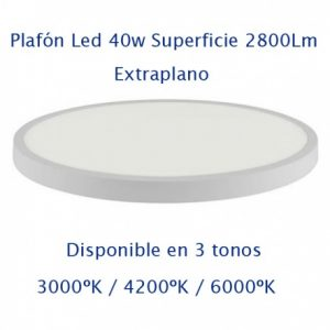 Downlight Led Superficie Extraplano