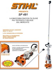 Vareadores Stihl Sp 481