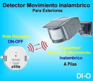 Detectores De Presencia Inalambrico